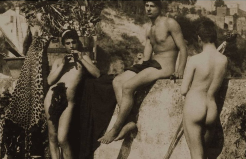 Male Nudes. A salon from 1800 to 2021