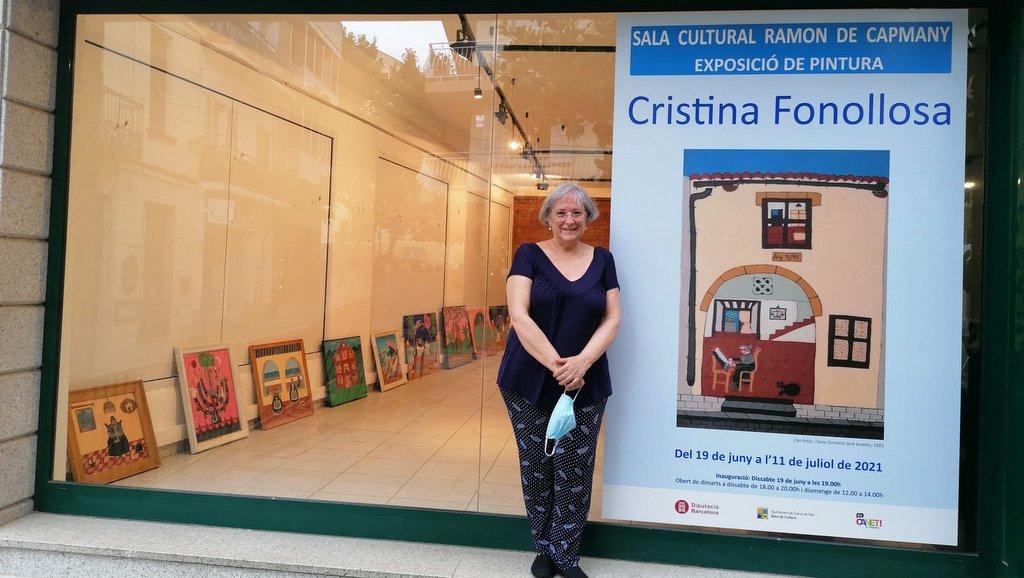 Cristina Fonollosa reencuentra Canet de Mar