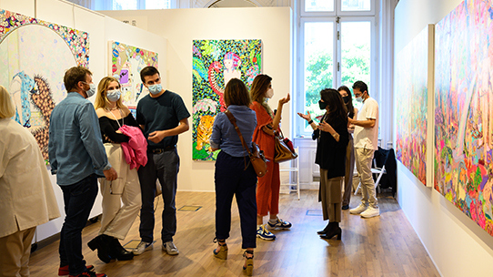 Resounding Success for the First Edition of Menart Fair