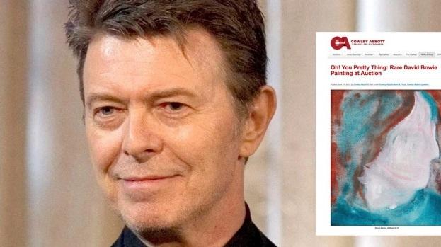 Obra de David Bowie: de un basurero a una casa de subastas