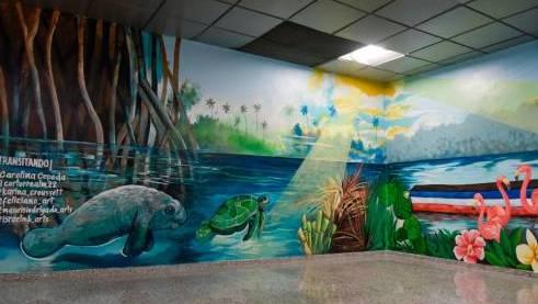 El Color de Santo Domingo en el aeropuerto Las Américas