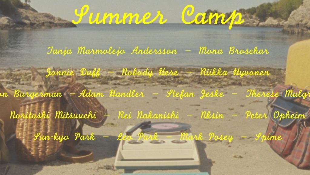"GR gallery. ""Summer Camp"""