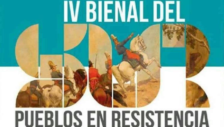 Inició la IV Bienal del Sur, Pueblos en Resistencia