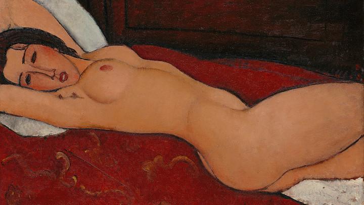 Gran expo de Amedeo Modigliani en el Albertina