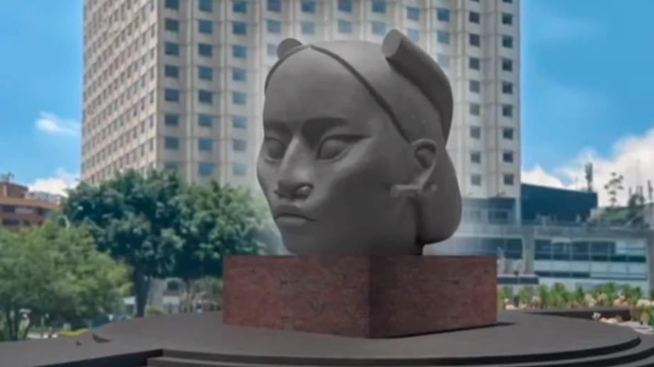 Tlali, la mujer olmeca que reemplazará a Colón