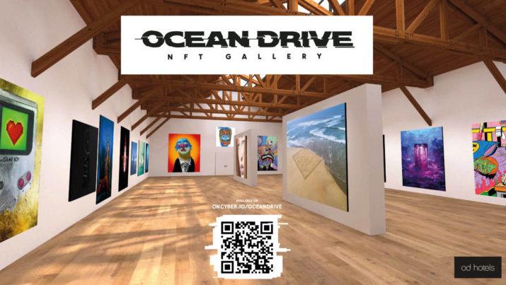 El arte digital gana terreno en Ocean Drive Ibiza