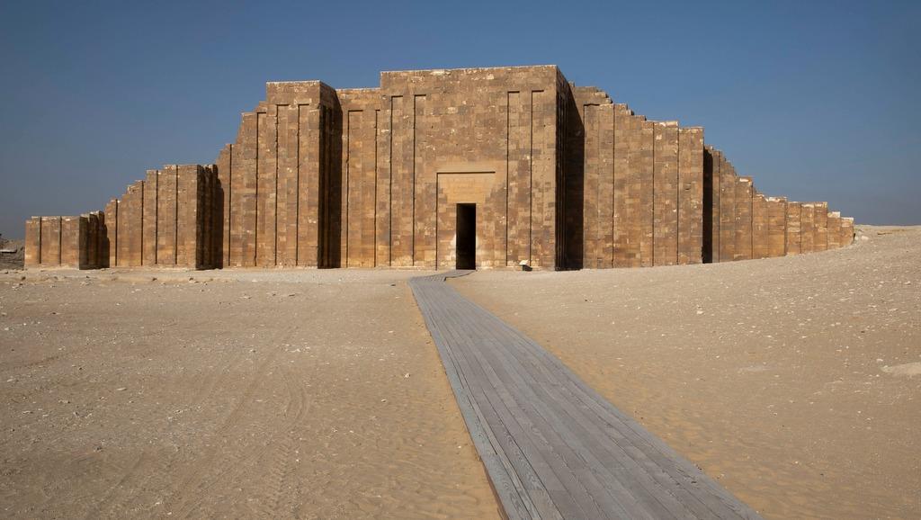 Tumba del faraón Zoser reabre sus puertas a los visitantes