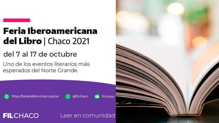 La Feria Iberoamericana del Libro Chaco 2021 en formato híbrido