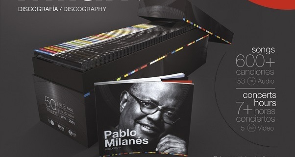 National Design Prize for Pablo Milanes´Discography Collection