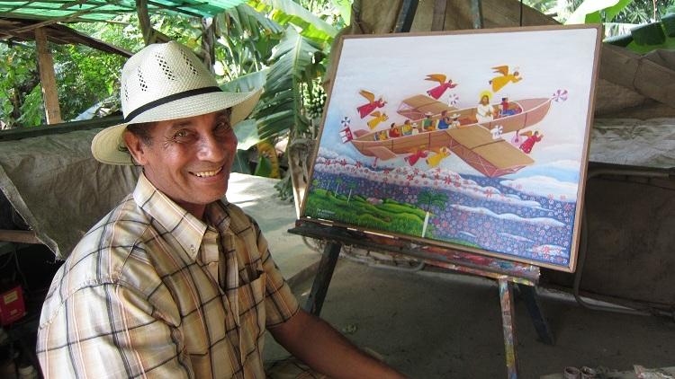 Campesino cubano propone soluciones desde la pintura