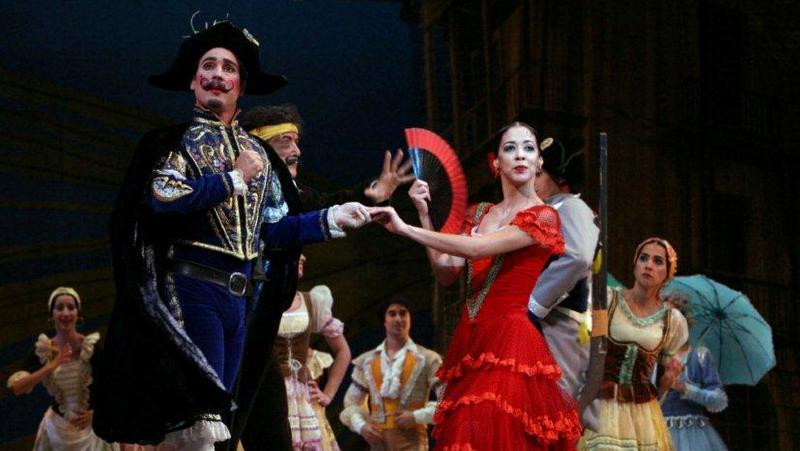 """Don Quijote en el Gran Teatro de La Habana """"Alicia Alonso"""""""