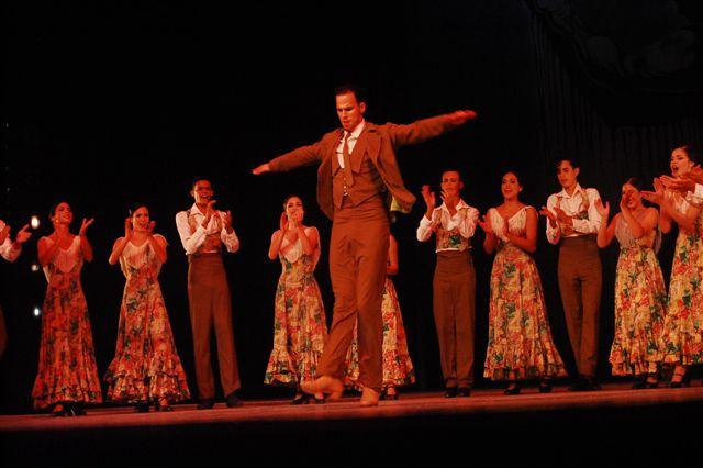 Noche de flamenco en el GTH Alicia Alonso