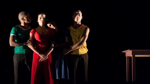 Obra Defilló por la Compañía Nacional de Danza Contemporánea de República Dominicana