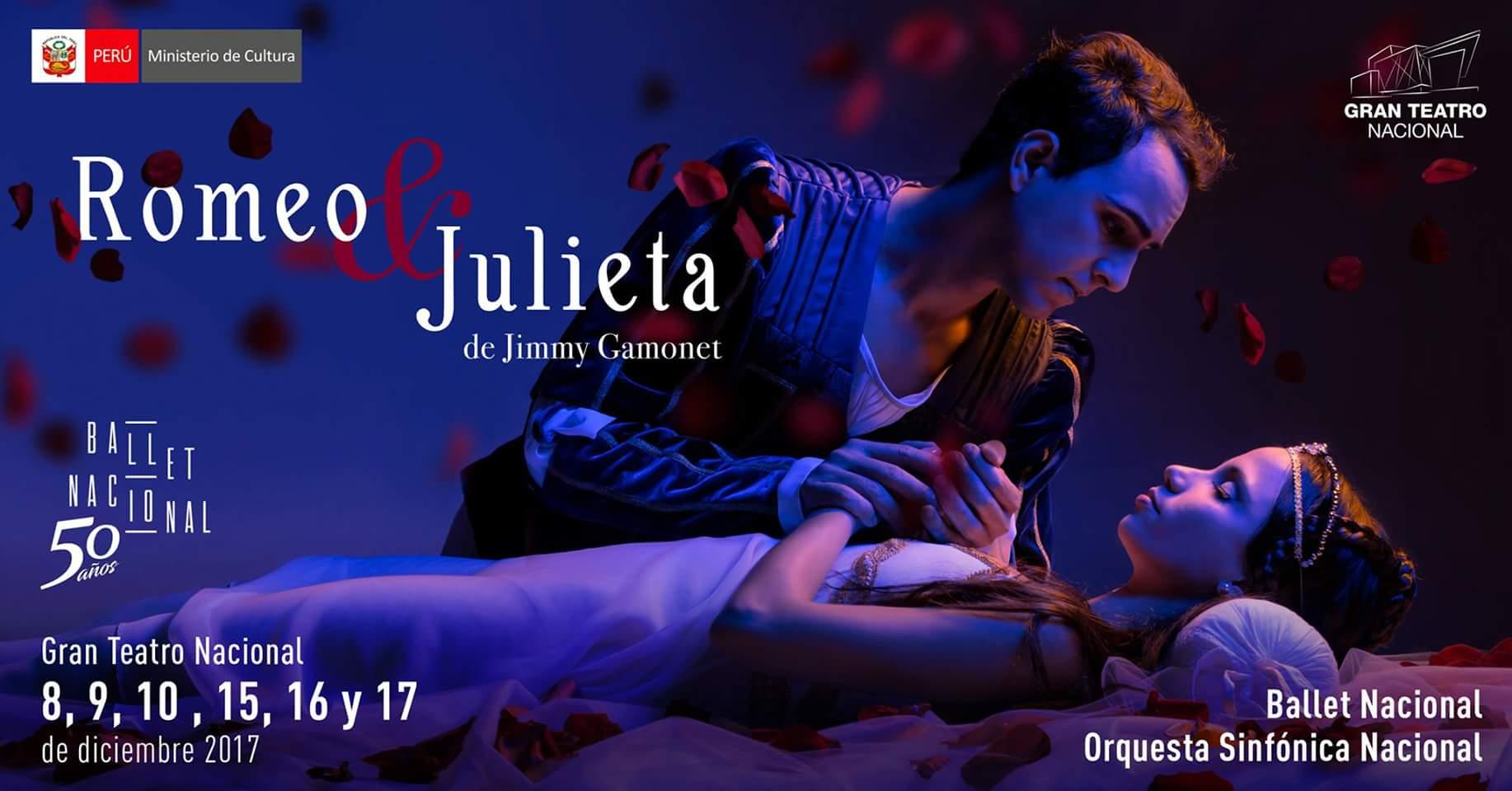 Romeo y Julieta por bailarines cubanos en tierra peruana