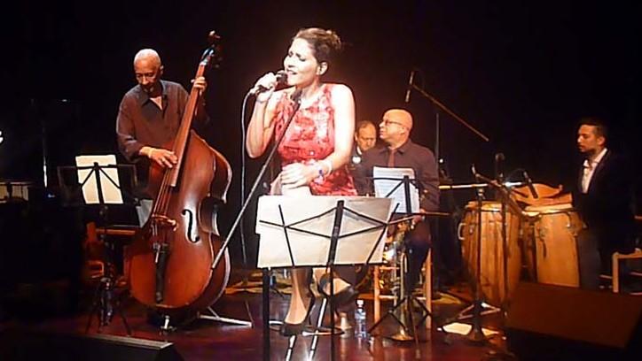 Haydeé Milanés en el Festival de Boleros de Oro 2018