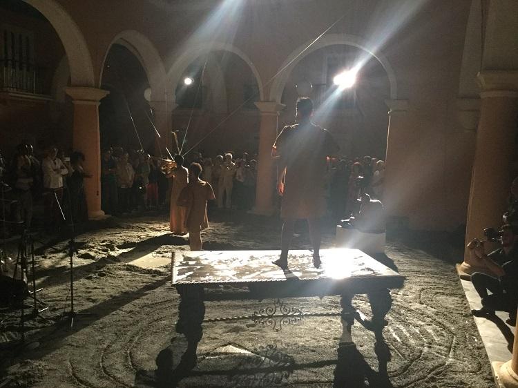 Inauguración de la expo de Adonis Ferro. DES-CONCIERTO 9 · El Banquete