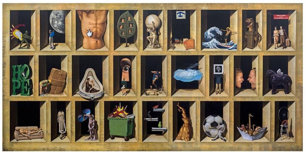 La habitación del simulacro. Exposición personal de Rubén Alpízar