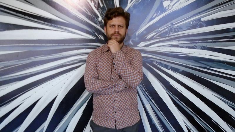 Leandro Feal no habla con fotógrafos