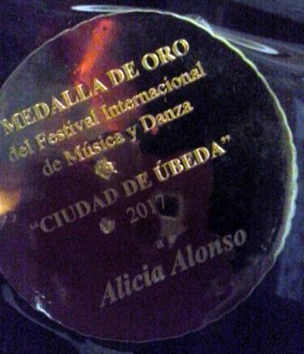 Distinción a Alicia Alonso en España