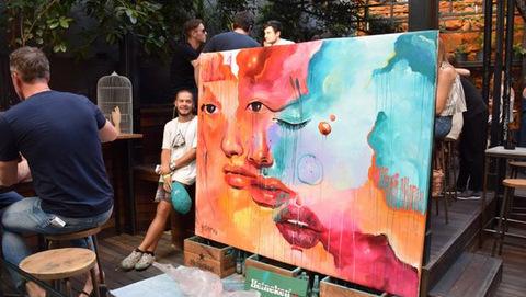 Misterpiro gana el Premio Street Art & Food Festival 2017