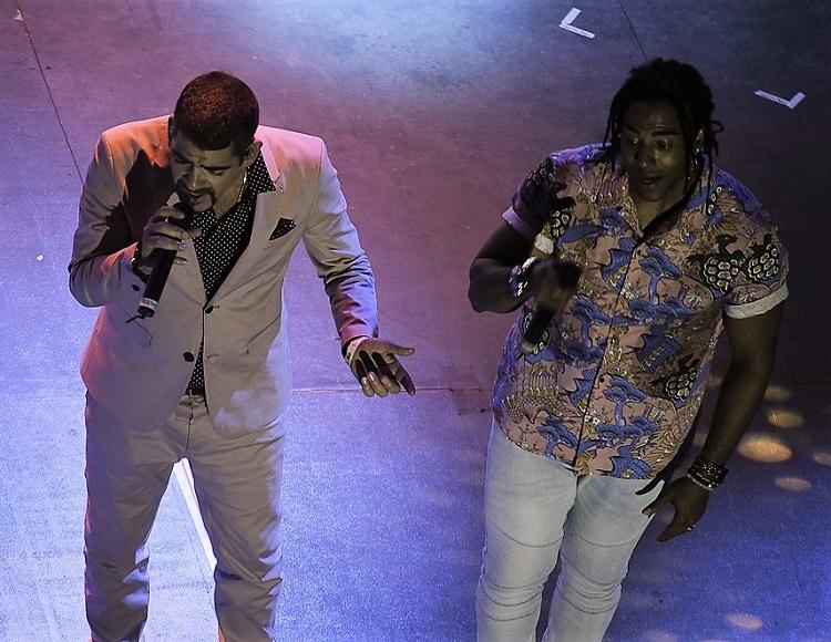 Concierto de Orishas en el Festival Havana World Music