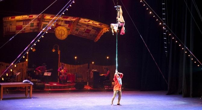 """Circo español """"Gran Fele"""" en CIRCUBA 2018"""