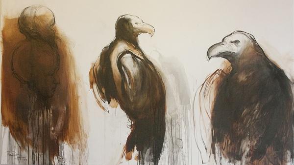 Una plástica de cuervos y pulsiones