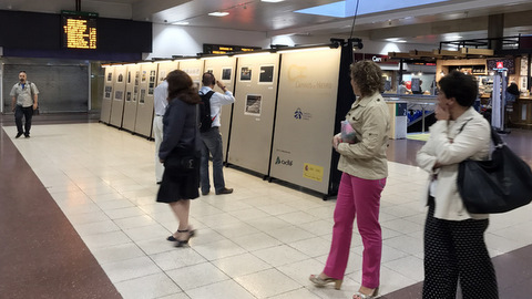 La estación de Chamartín acoge la exposición Caminos de Hierro