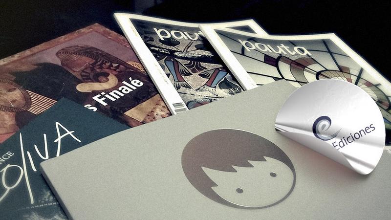 Collage Ediciones: Books for the artistic memory