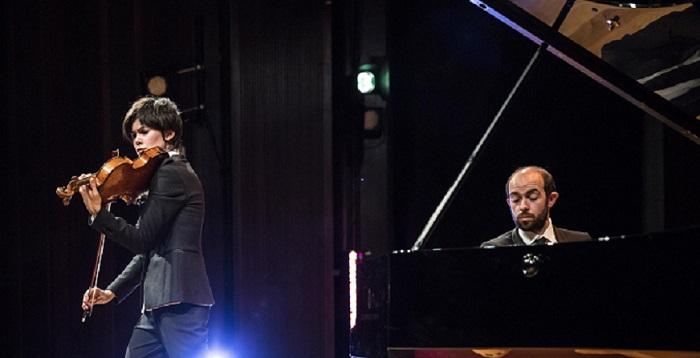 Isabel Villanueva y François Dumont en concierto