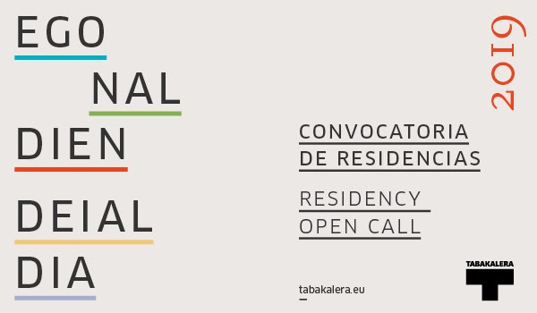 Tabakalera convoca a residencias artísticas para 2019