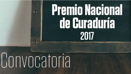 Premio Nacional de Curaduría