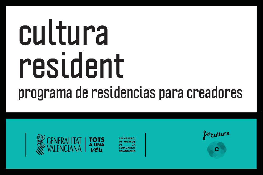 """Convocatoria """"Cultura Resident. Mediación Cultural"""""""