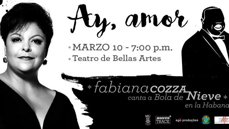 Fabiana Cozza canta a Bola de Nieve