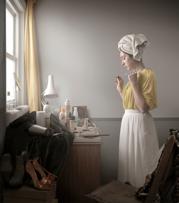 Maisie Broadhead Isabella Study, 2014 Fotografía  45 x 52 cm Sarah Myerscough Gallery