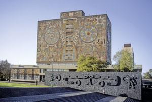 Ciudad Universitaria de la UNAM, Ciudad de México.