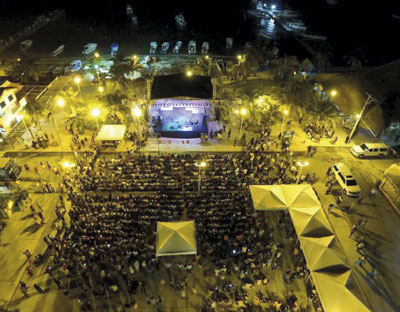 Jornada de trova en Puerto Morelos.