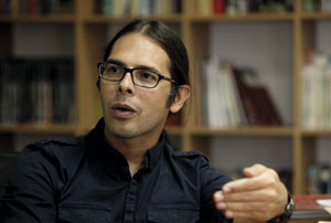 Poeta venezolano Freddy Ñáñez