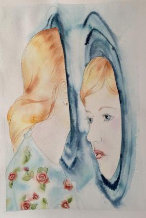 Alicia en el espejo