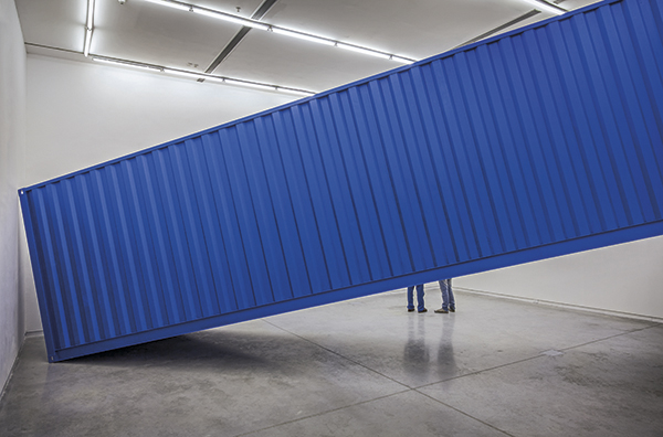 Container, 2013 | Jorge Macchi | Fotografía © Santiago Porter