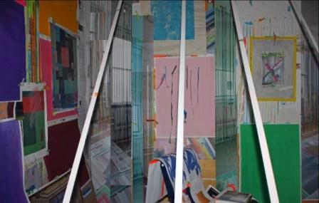 "FRANKLIN EVANS - ""readingroomincolour""  a site-specific  installation"