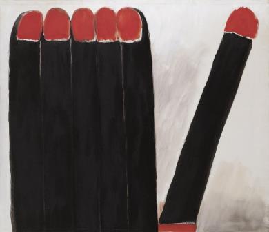 Awakening, 1970. Óleo sobre lienzo. 145,5 x 165,5 cm.