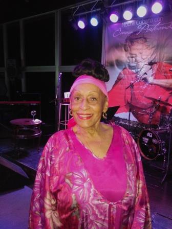 Omara Portuondo, gloria de la música cubana. Fotos: José Carlos de Santiago