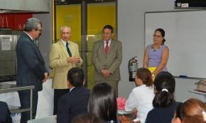 Carlos Alipi, José Carlos de Santiago, Stanley Muschett y Raisa Zayas