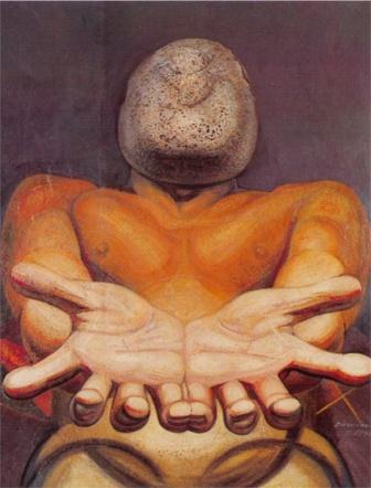 David Alfaro Siqueiros, Nuestra Imagen Actual, 1947 - México, INBA, Colección Museo de Arte Moderno.