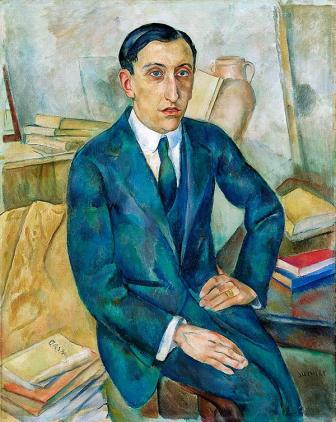 Joaquim Sunyer (1874-1956), Retrato de Josep M. Albiñana, 1918-19. Asociación Colección Arte Contemporáneo, Museo Patio Herreriano.