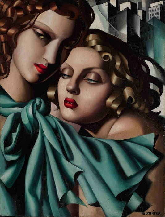 The young girls. Tamara de Lempicka