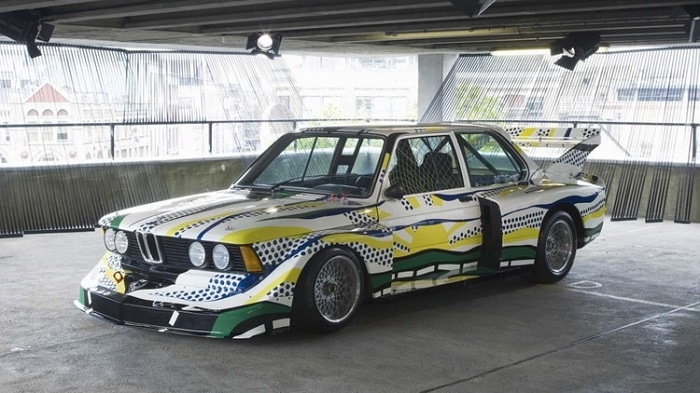 The 'Art Car Collection' of BMW