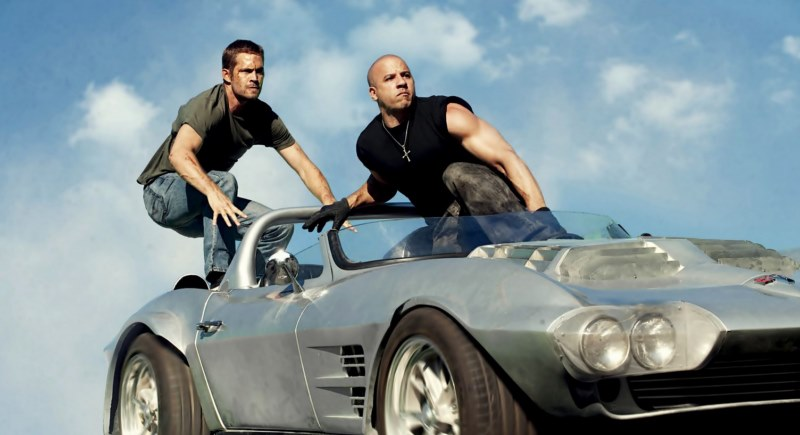 Paul Walker and Vin Diesel, friends and protagonists