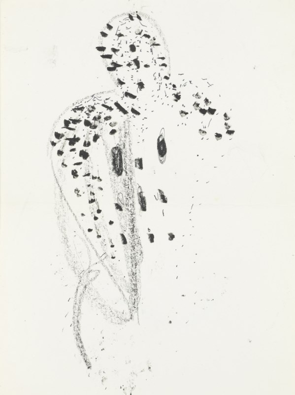 Untitled, c. 1981-84 Pencil on paper 11 5/8 x 8 1/4 inches (29.5 x 21 cm)